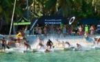 SUP Ironmana à Bora : Moehau Gould gagne devant une vingtaine d'étrangers