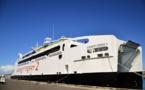 Exercice en mer : plus de 100 figurants à évacuer de l'Aremiti Ferry 2 en feu