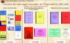 Au Service du patrimoine archivistique : anciennes publications de l'imprimerie officielle, disponibles.