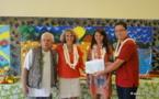 Economie solidaire : Aito Immobilier fait un don de 300 000 Fcfp au Village d'Enfants SOS