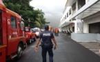 (MAJ) Incendie au Centre hospitalier du Taaone