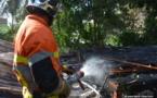 Incendie à Papeete : le repaire des jeunes part en fumée