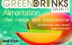 Les Green Drinks de juin sur le thème de la nourriture saine