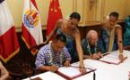 Les conventions foncières du projet aquacole de Hao signées