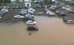 Le parking provisoire du CHPF vraie mare aux canards