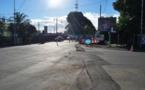 Une canalisation d'eau casse à Pirae