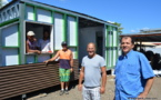 Le « fare-container » 100% local de Moana Sandford