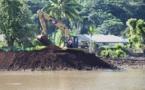 A Moorea, des monceaux de terre qui menacent le lagon