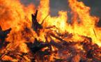 Un paroissien de Tahaa victime d'un incendie pendant la messe