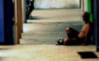 La misère bannie du centre ville de Papeete en journée