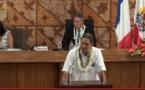 Richard Tuheiava à l'Assemblée de Polynésie : un discours accusateur
