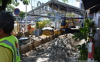Le Rétro en travaux : le trottoir du Front de mer rendu aux piétons dès vendredi
