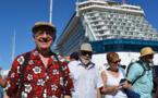 Dimanche, 3500 croisiéristes ont débarqué à Papeete
