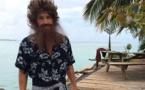 Tournage Tahiti Quest à Moorea : Benjamin Castaldi en version Robinson