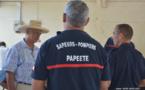 Exercice cyclone à Papeete : des familles évacuées à Tipaerui
