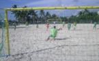 Tournoi de beach soccer le 15 novembre