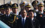 Barack Obama arrive à Pékin, première étape de sa tournée asiatique