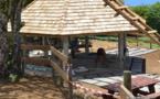 Un nouveau fare pote'e au plateau de Taravao
