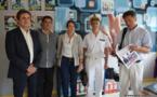 Le Haut-Commissaire rend visite à Tahiti Infos