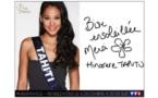 """Miss France 2015 : Miss Tahiti s'est prêtée au jeu du """"si j'étais..."""""""
