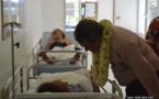 Epidémie de chikungunya : Edouard Fritch en visite aux urgences du CHPF