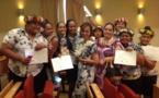 Les lauréats du lycée hôtelier de Punaauia reçoivent leurs diplômes