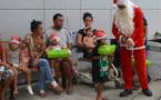 Le père Noël est déjà passé chez les enfants hospitalisés au CHPF