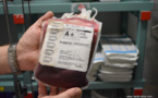 Les stocks en dents de scie du Centre de transfusion sanguine