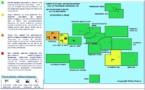 Vigilance orange maintenue sur Mopelia