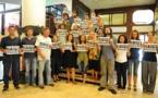 """""""Charlie Hebdo"""" : manifestation pour la liberté à Nouméa"""