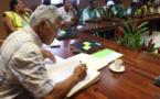 Bora Bora : 38 agents intègrent la Fonction publique communale