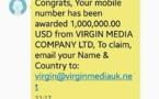 Vini met en garde contre des fraudes par SMS