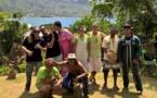 Huit élèves marquisiens de terminale sur scène