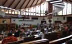 La délibération pour la convention pour le RST  a été adoptée par l'assemblée