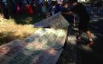 Une centaine de manifestants de la CPS devant Tarahoi