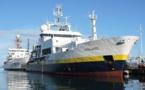 Une double mission pour le navire océanographique L'Atalante