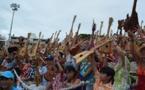 [PHOTOS] 4750 joueurs de ukulele s'emparent du record du monde