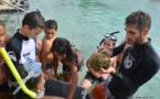 Quand le lagon est expliqué aux enfants par les scientifiques
