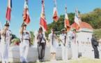Hommage aux deux soldats de l'Anzac enterrés à l'Uranie