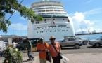Tourisme de croisière : trois bateaux en escale, 7800 personnes de plus en ville