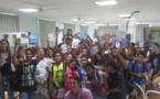 Au collège de Taravao, le  développement durable s'apprend et se transmet
