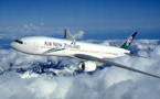 Demi-tour pour un avion d'Air New Zealand pour « panne hydraulique »