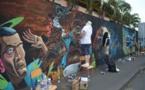 Les meilleurs graffeurs du monde offrent un nouveau visage à Papeete