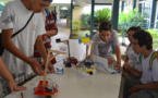 Le collège de Papara vainqueur de la coupe de robotique 2015