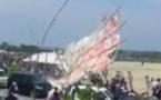 Japon: un cerf-volant de 700 kilos s'écrase sur la foule, un mort