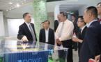 Chine :  la délégation polynésienne informée sur les énergies vertes