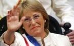 """Michelle Bachelet, présidente du Chili : """"une amie de la France"""""""