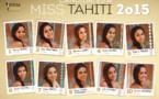 Dernière ligne droite pour les dix candidates à l'élection de Miss Tahiti 2015