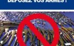 """""""Déposez les armes"""" : déjà 31 armes à feu et 750 munitions récupérés"""