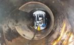 Le barrage de Titaaviri réparé par un robot